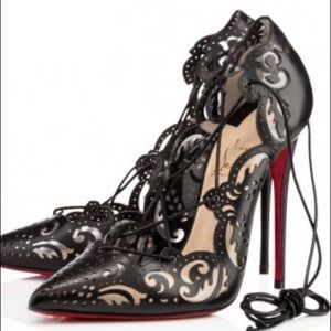 Iso Christian Louboutin Impera Pumps 36 5 Or 37